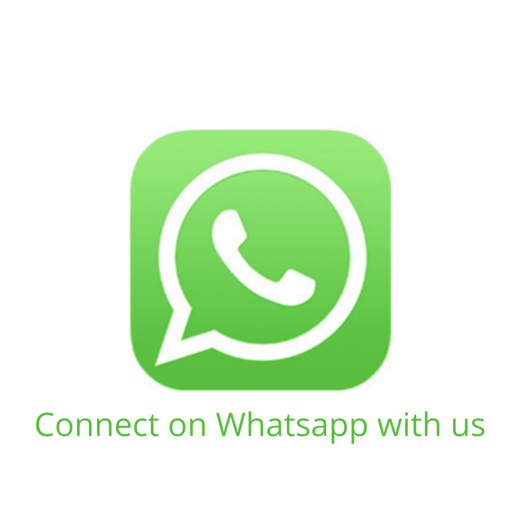 Connect on Whatsapp with us